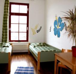 2-Bettzimmer Hostels Leipzig