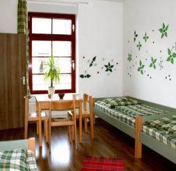 3-Bettzimmer Hostel Leipzig