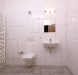 Badezimmer Hostel Leipzig