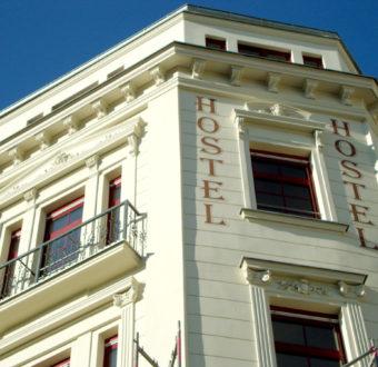 Fassade Hostel Leipzig