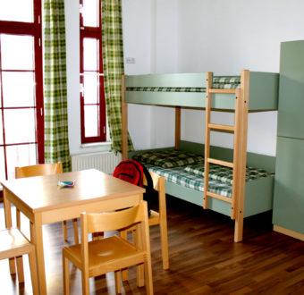4-Bettzimmer Hostel leipzig